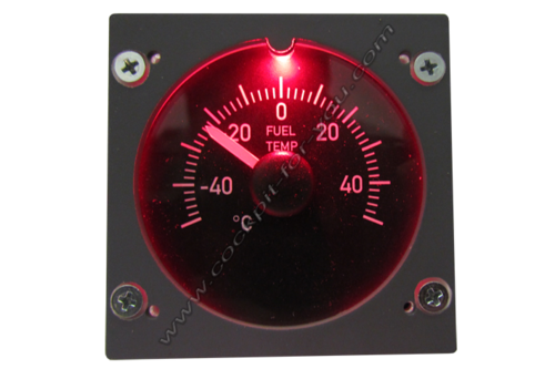 Gauge OVH Fuel Temperature