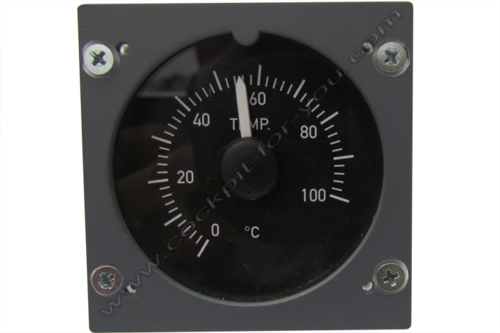 Gauge Temperature Overhead Panel