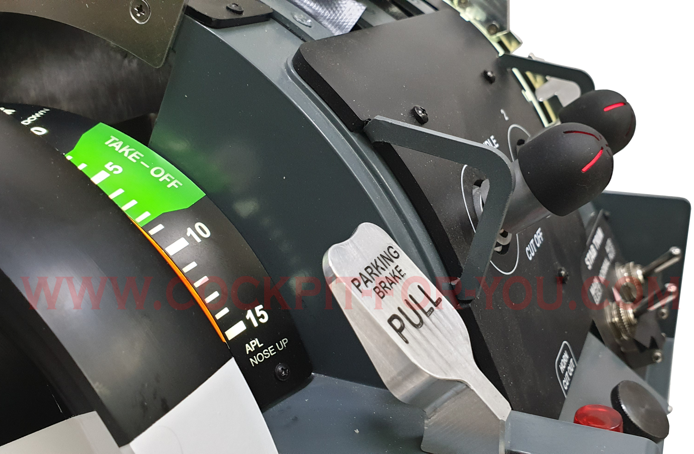 B737 Throttle Quadrant MAX Motorised V3 Gold