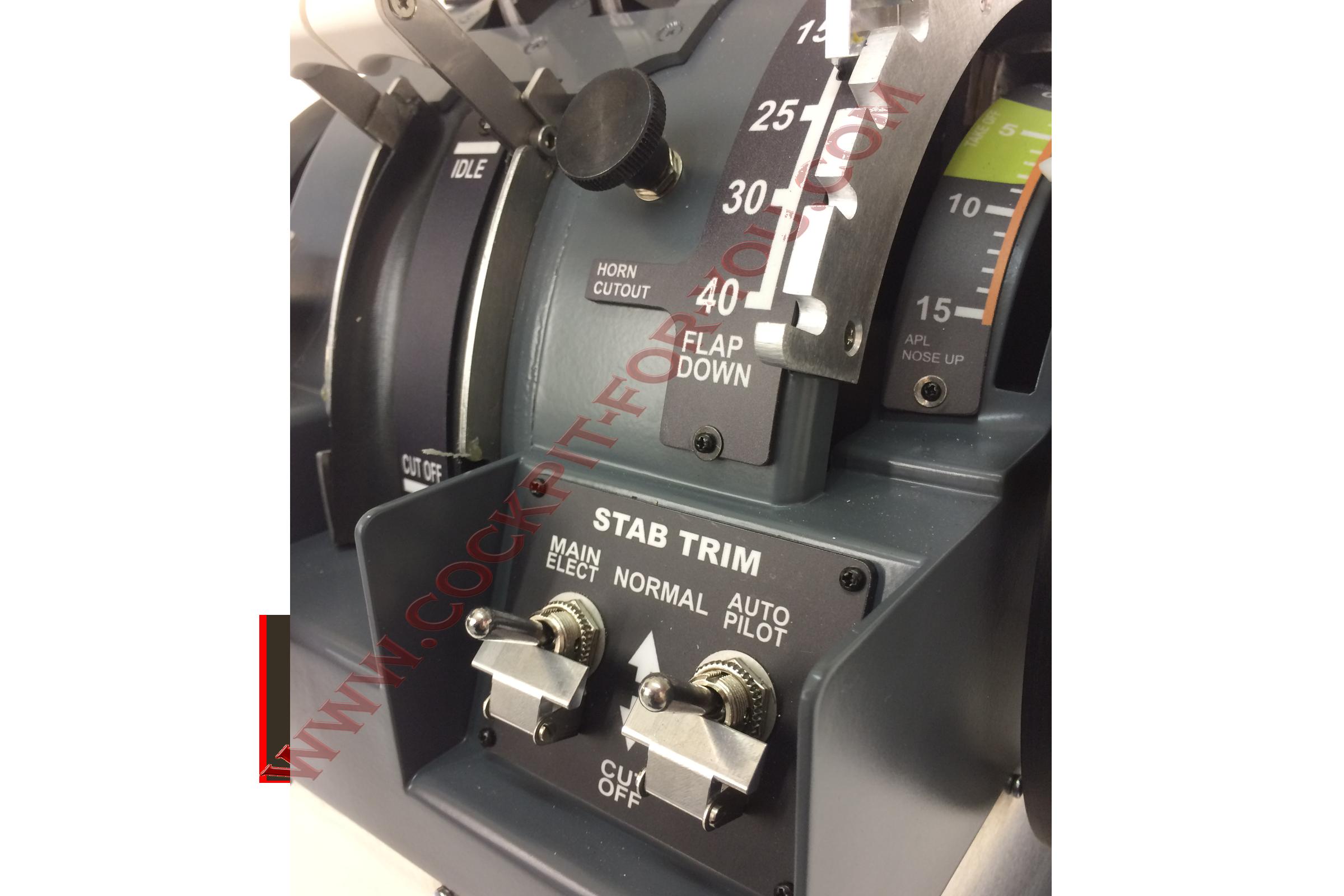 B737 Throttle Quadrant Motorised V4 GoldPlus