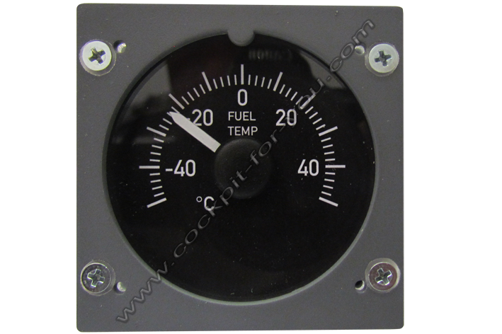 Boeing 737 Gauge OVH Fuel_Temperature S1