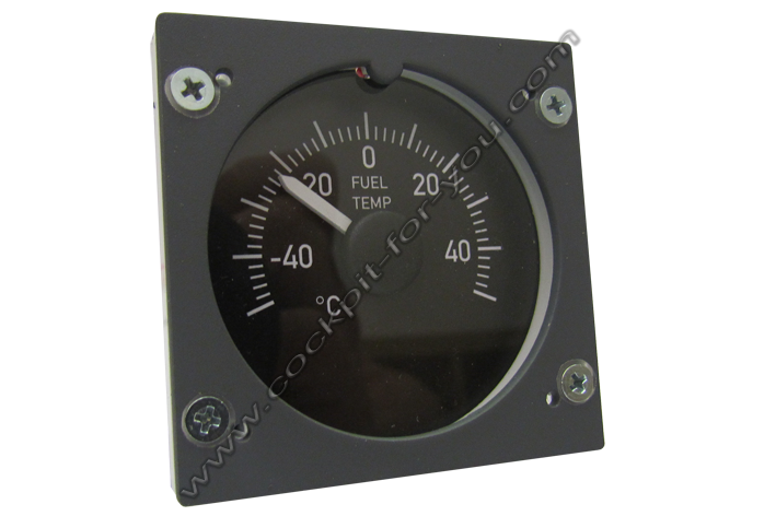 Boeing 737 Gauge OVH Fuel_Temperature S2