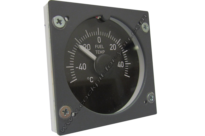 Boeing 737 Gauge OVH Fuel_Temperature S3